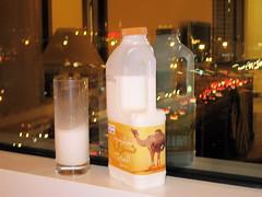 Förpackningar med kamelmjölk