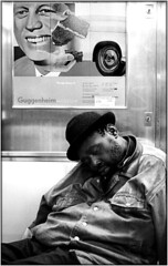 Hope & Hopeless  2003 (URBAN PHOTOS) Tags: new york city subway jfk rosenquist urbanphotos broadwaylocal