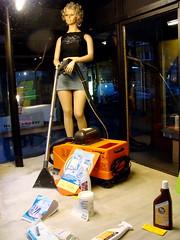 Vacuum girl