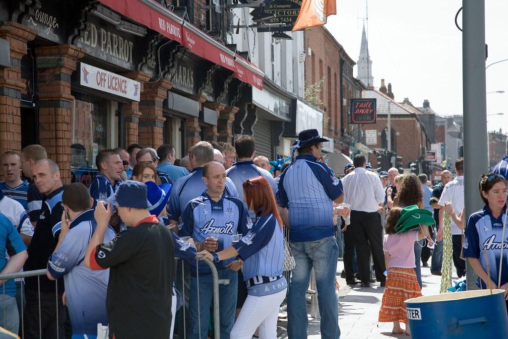 Gaelic football - Dublin Supporters