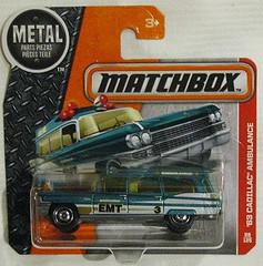 1963 Cadillac Ambulance (streamer020nl) Tags: matchbox toys thailand 63 1963 ambulance mattel emt metal diecast cadillac 2016