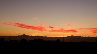 Monviso &friends to the sunset