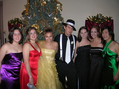 Me with the First-Years (Tostie14) Tags: me dance gangster formal snowball fedora mansion olin olincollege formaldance endicotthouse olinsnowball2005