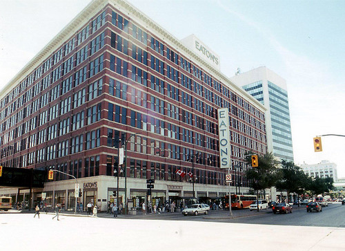 EATON'S WINNIPEG DownTown 1905 - 1999 (Demolished 2003)  Truly A Store Like No Other