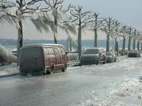 tormenta de hielo