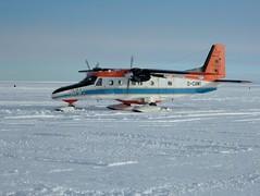 Dornier after landing (Antarctic M) Tags: antarctica planes airport dornier
