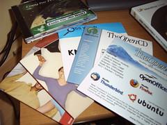 original Linux- und TheOpenCDs - by jatop