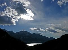 (Abra K.) Tags: ticino lake lagomaggiore mountains snow winter clouds sunlight sunbeams