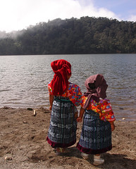 Patojas near Laguna Chicabal, Guatemala (Bryan-Long-Photography) Tags: travel people lake tourism kids america highlands san martin maya guatemala central tourists photograph mayan western indians laguna traje indigenous guatemalan chldren chicabal mayans