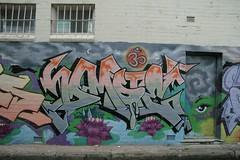 Sydney Graffiti Nov 2005 - 23 (TheSnakeMan) Tags: street streetart stpeters colour art st painting graffiti paint sydney spray spraypaint newtown peters enmore thesnakeman