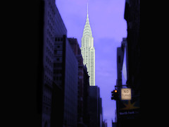 Chrysler Building Glows - NYC