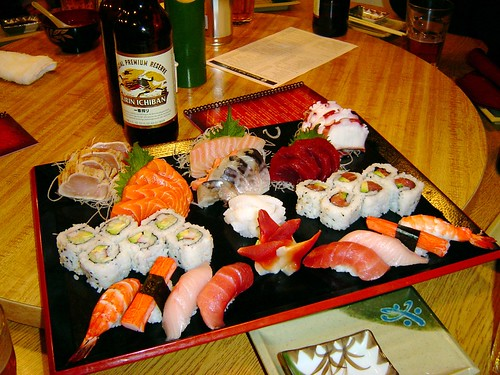THAT'S A LOT OF SUSHI!