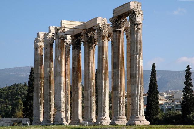 10 kuil Yunani yang paling terkenal