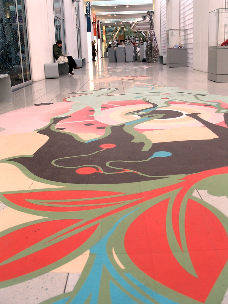 Floor art - Ded Associates