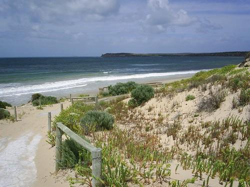 Beach at Marion Bay