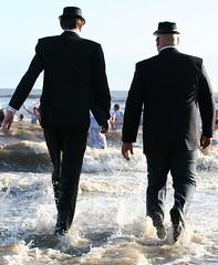 bluesbrothers-on-sea (igilmour) Tags: bluesbrothers seaside christmas madness suits sea waves swimming saveme deleteme saveme2 deleteme2 deleteme3 saveme3 deleteme4 deleteme5 deleteme6 deleteme7 deleteme8 saveme4 deleteme9 deleteme10
