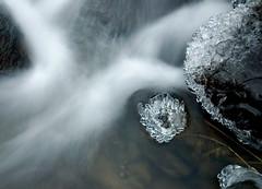 curving (hkvam) Tags: winter ice me topf25 water mrjackfrost creek diamonds wow river ilovenature frozen bravo whitewater stream frost pad freezing womenonly freeze rivers photowalk waters brook streams score canoneos300d brooks creeks icecrystals limitless scoreme
