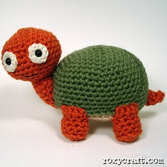 """Poke"" the turtle (Roxycraft) Tags: amigurumi softies plush mos crochet handmade"