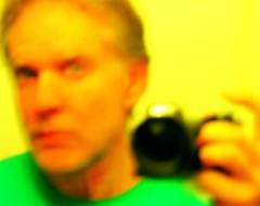 January 3 (Release) (O Caritas) Tags: camera selfportrait color colour reflection green me yellow self mirror haiku ocaritas selfportraitwithcamera mywords