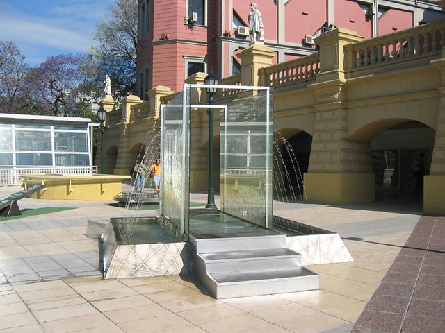 Fountain at the Recoleta