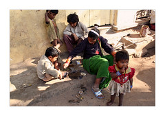 A homeless familly (Elishams) Tags: woman india child homeless mother dailylife hyderabad indianarchive southindia andhrapradesh भारत 50millionmissing