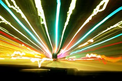 tolls ahead (Ben McLeod) Tags: flickrimportr driving longexposure highway newhampshire hooksett tollbooth interestingness