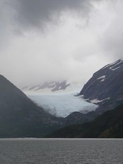 Portage Glacier AK 05 - by Meredith James Johnstone