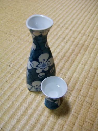 Sake and tatami