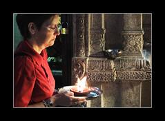 Praying (Hello Rika) Tags: littleindia praying temple singapore notpicked