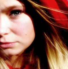 Red Riding Hood (11) (Special) Tags: skunkworks girl woman tonya portrait redridinghood fairytale nurseryrhyme blonde rotkppchen hood face