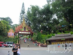 Gate of Wat Phra That Doi Suthep Temple in Chiang Mai, Thailand