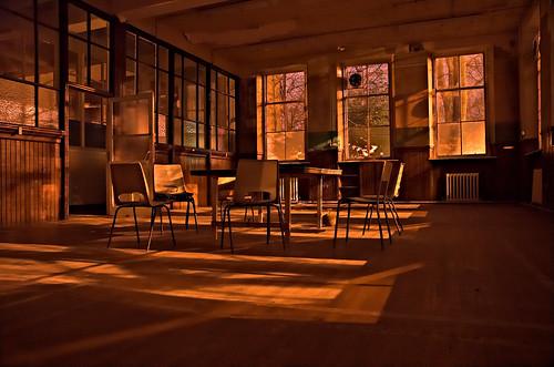 old school -- glasgow scotland urban west end exploration forsaken westend night urbanexploration school brown