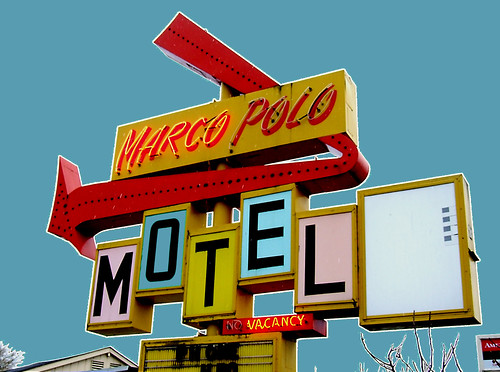 Marco Polo Motel by Curtis Gregory Perry