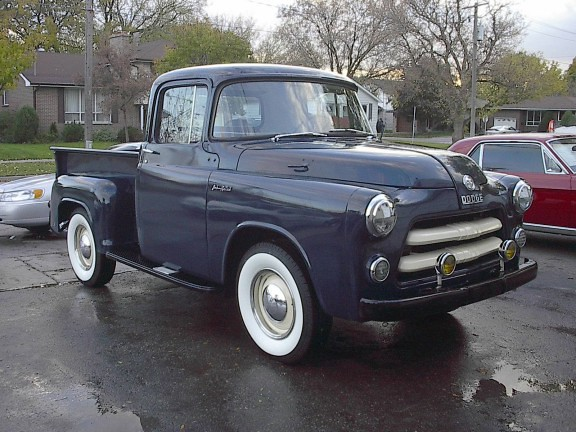 1955 dodge pickup truck lionsclub 50thanniversary draw