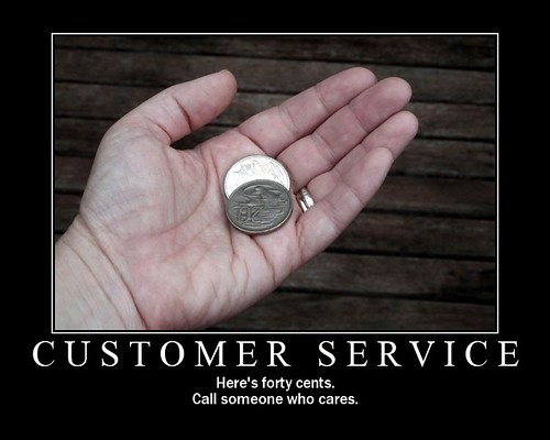 Customer Service By Here's Kate on flickr