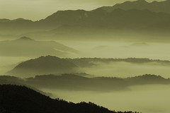 misty mountains (Jeff Epp) Tags: vacation 15fav mist mountains fog 1025fav 510fav landscape asian asia taiwan 2550fav fv10 top20landscape sunmoonlake fiveflickrfavs