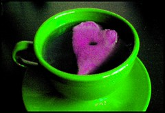 Perhapsperhapsperhaps (lorretine) Tags: perhaps heart tea cup purple green purplegreen