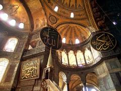İstanbul (Turkey) - ayasofya (Hiro Otake) Tags: 2005 church museum turkey aya sofia istanbul mosque İstanbul hagiasophia worldheritage ayasofya