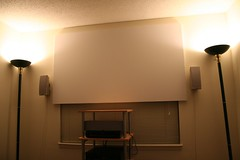 Homemade Movie Screen