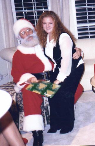 Santa and me 1995