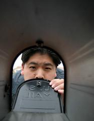 What!  No Mail?!? (arkworld) Tags: selfportrait mailbox interestingness pete whatsinside interestingness453 mailboxcam ijan06