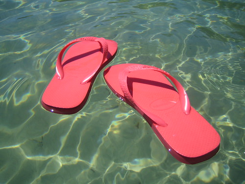 Floating Havaianas Again