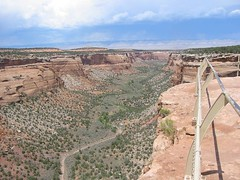 Upper Ute Canyon, Colorado National Monument (hanneorla) Tags: 2004 monument nationalpark colorado canyon ute upper national coloradonationalmonument hanneorla
