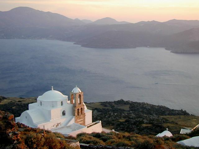 sea mediterranean aegean greece milos bluelist