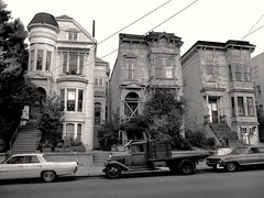 Western Addition, San Francisco (Dave Glass . foto) Tags: sanfrancisco haight page fillmore 1969 westernaddition lowerhaight