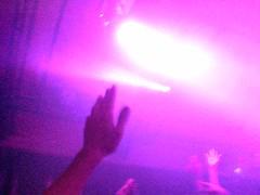 bmagik's hand (gnomatron) Tags: club lights clubbing potterrow bmagik handsintheair