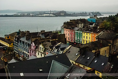 Cobh, County Cork, Ireland (Seven Seconds Before Sunrise) Tags: travel ireland roof house water architecture cork eire cobh euorpe