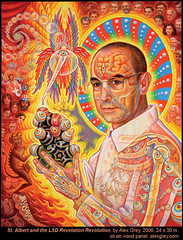 San Albert Hofmann, por Alex Grey