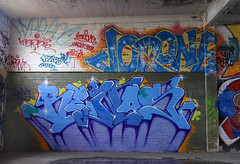 Jor One, Renos (funkandjazz) Tags: sanfrancisco california graffiti iron hype jor jorone renos kerbs htk joroe