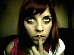 III (ValetheKid) Tags: eye girl face shot expression finger nail makeup super